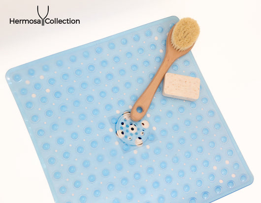 Square Shower Mats Latex Allergen Free & Anti Bacterial & Anti-Slip