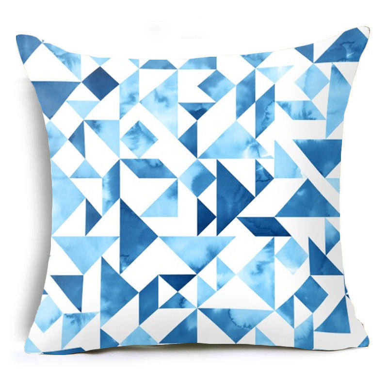Bohemia Geometric Cotton Linen polyester Square Pillow Cases Throw pillow Cushion Cover Home De...