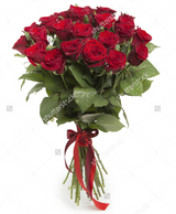 6 12 or 24 Red Roses