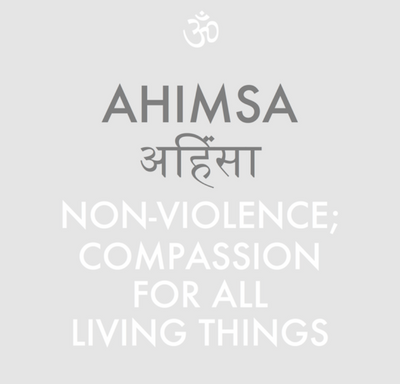AHIMSA - THE PRACTISE OF NON VIOLENCE