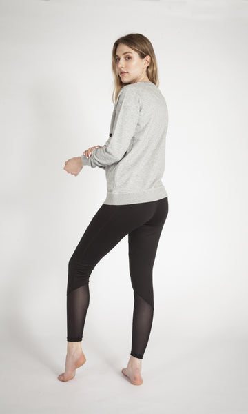 GREY ASANA SWEATSHIRT