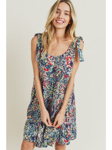 In the Clouds Tie Dye Tee