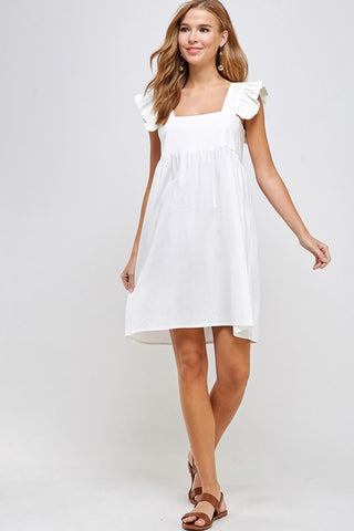 Tiered Longsleeve Dress