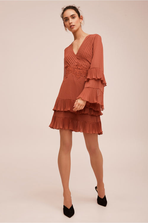 Horizons Long Sleeve Dress