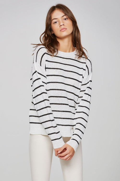 Flight Path Stripe Knit