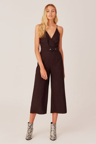 High Waist Ankle Skinny with Snake Piping