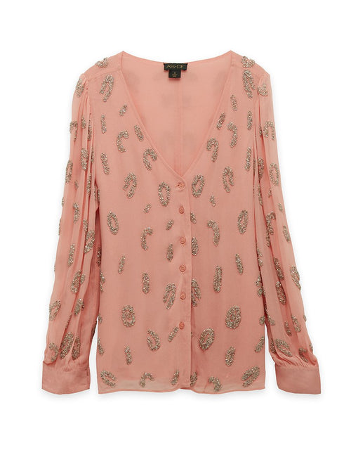 Loren Embellished Blouse