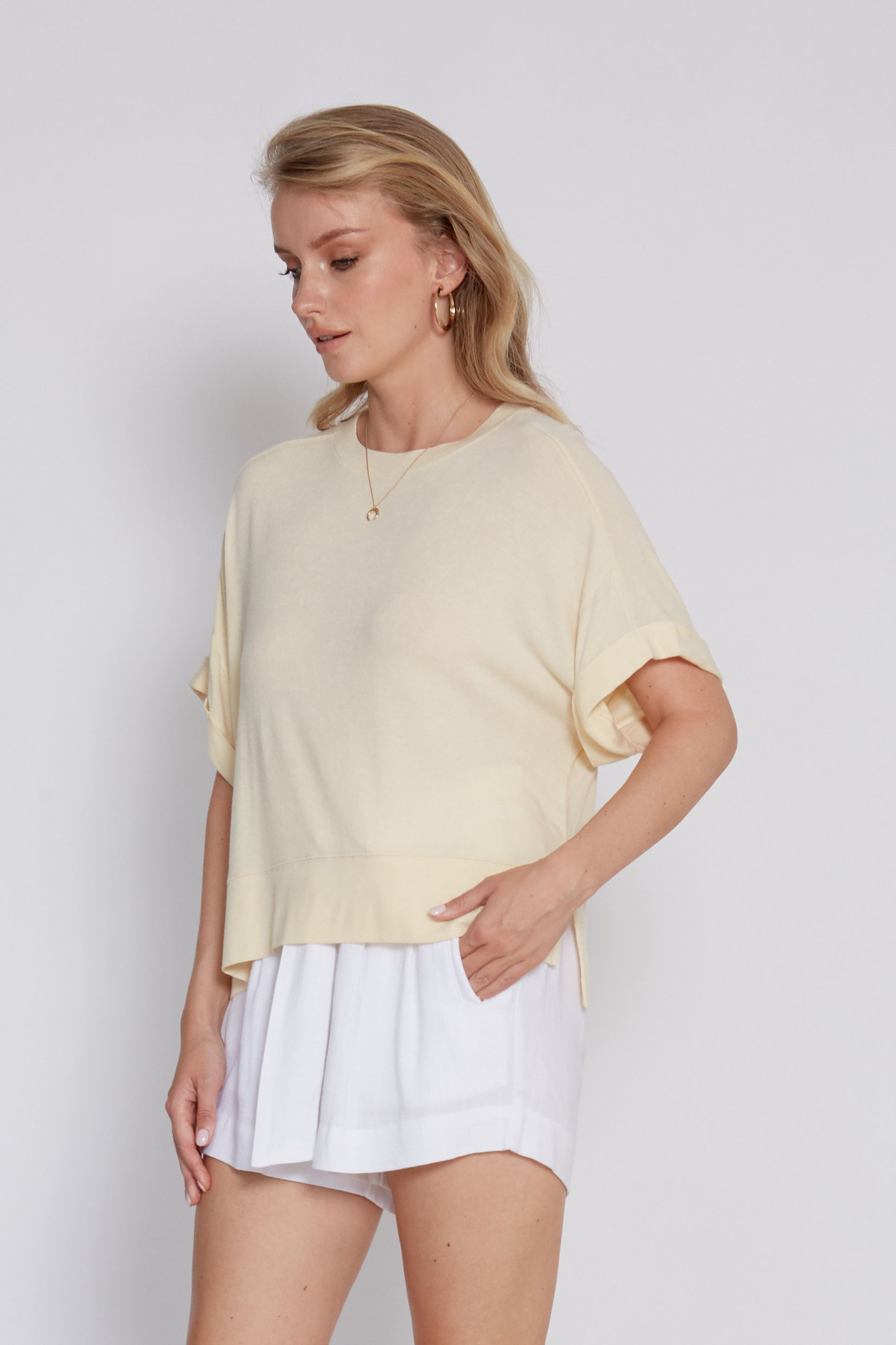 Monica Relaxed Fit Top