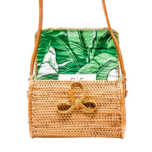 Sophia Bag - Palm Leaf