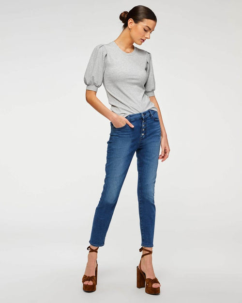 B(air) High Waist Ankle Skinny in Peace Blue