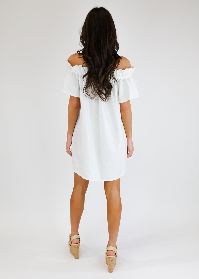 Brunching Little White Dress