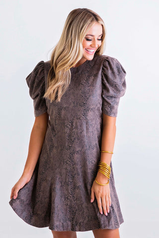 Boho Chiffon Tiered Mini