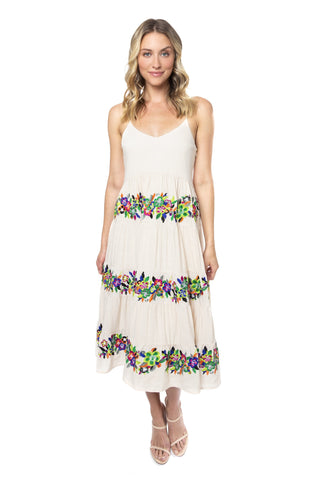 Button Front Beach Dress