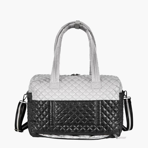 Kitchen Sink Duffle - Black/Pearl Duo
