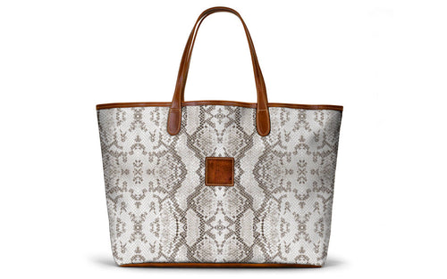 Snakeskin St. Anne Tote