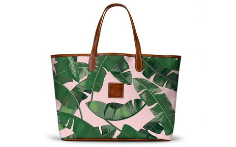 Zippered Axis Deer St. Anne Tote