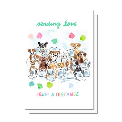 Sending Love (From A Distance) Card