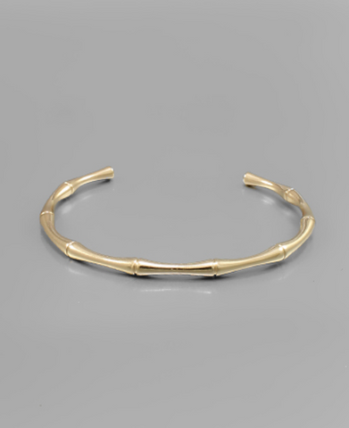 Let Go 24K Gold Disc Stacking Bracelet