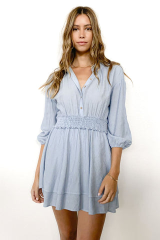 Beachside Stripe Collar Dress