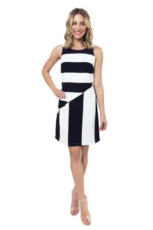 Leah Striped Dress