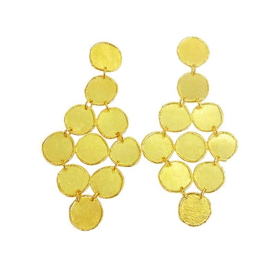 Vanessa Multi Circle Chandelier Earrings