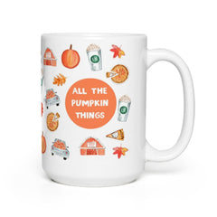 All the Pumpkin Things Mug