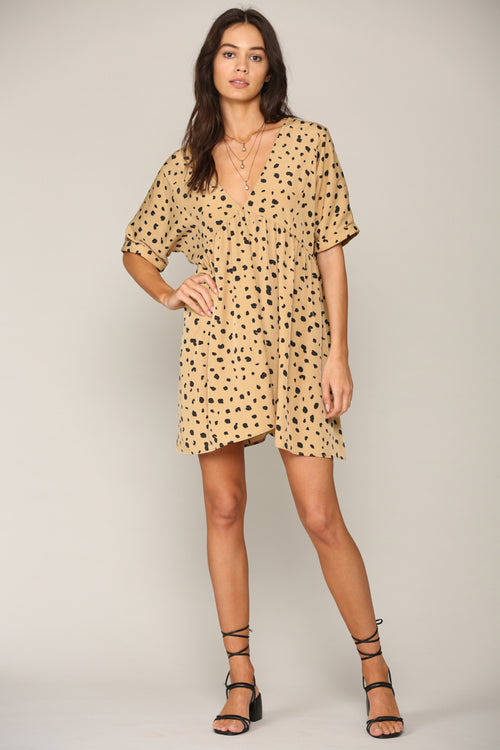 Leopard Island Mini Dress