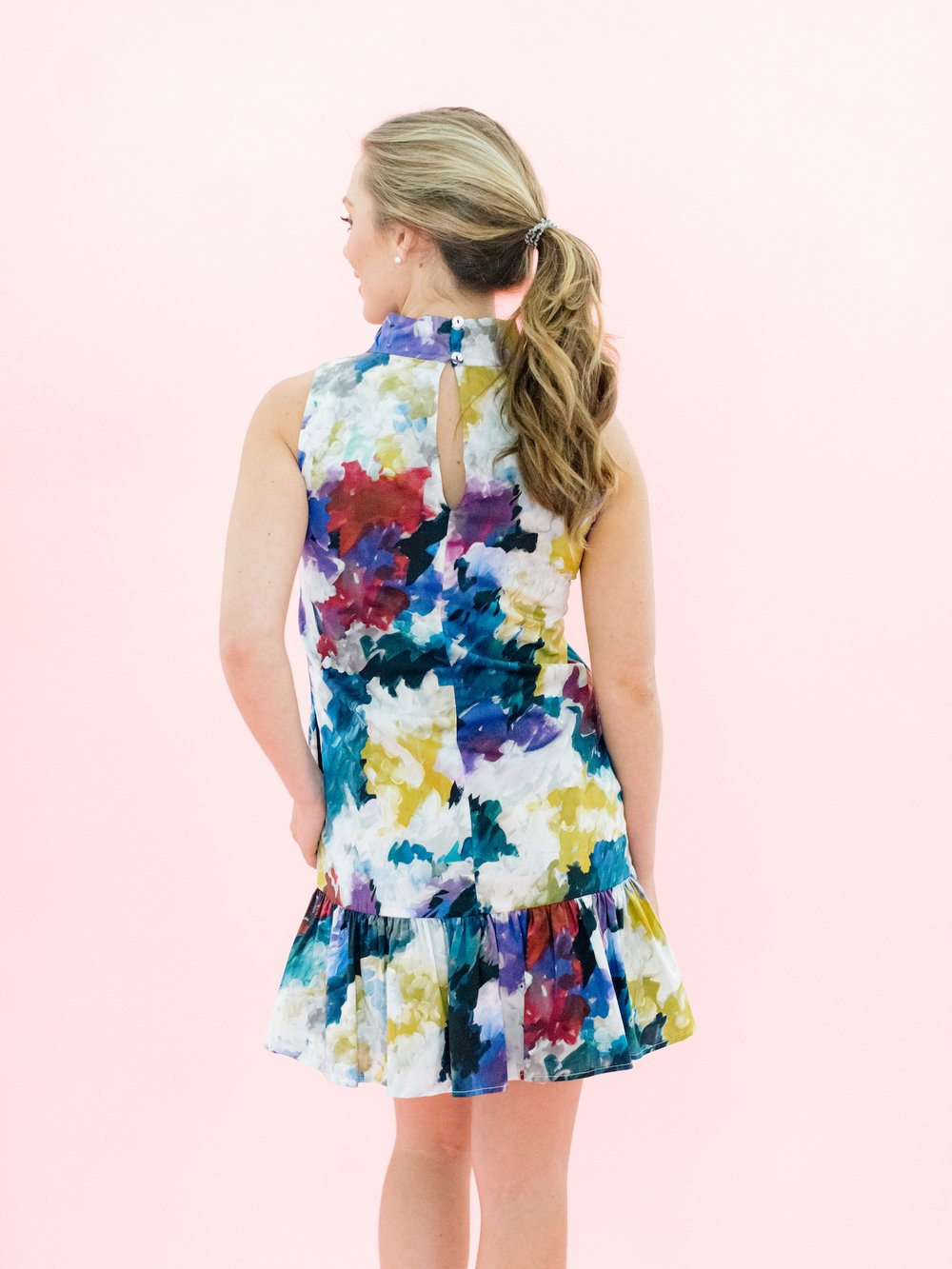 Libba Dress - Paint Pallet