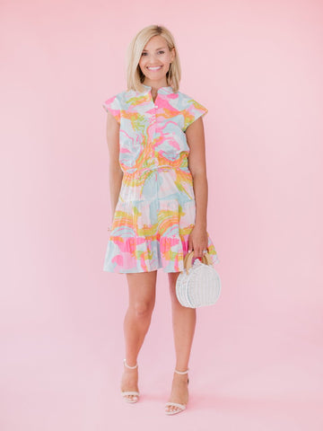 Sunshine State Halter Dress