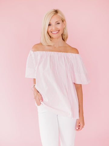 San Pedro Off-Shoulder Maxi