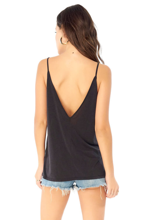 Basic V Neck Low Back Tank