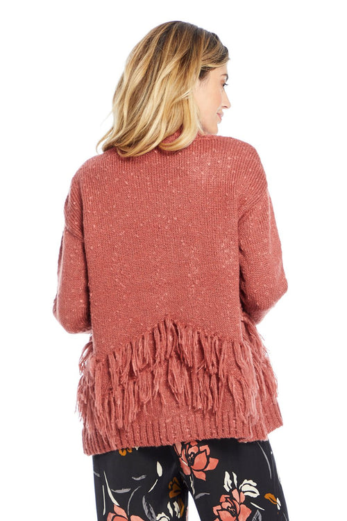 Half Moon Fringe Sweater