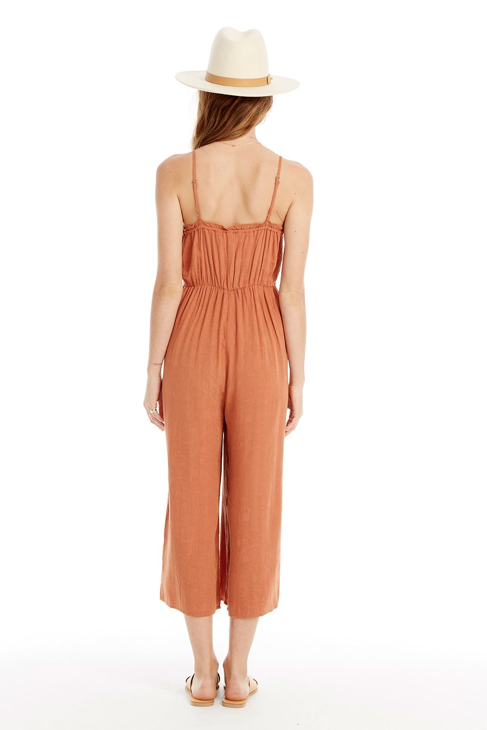 Jay Button Front Jumpsuit