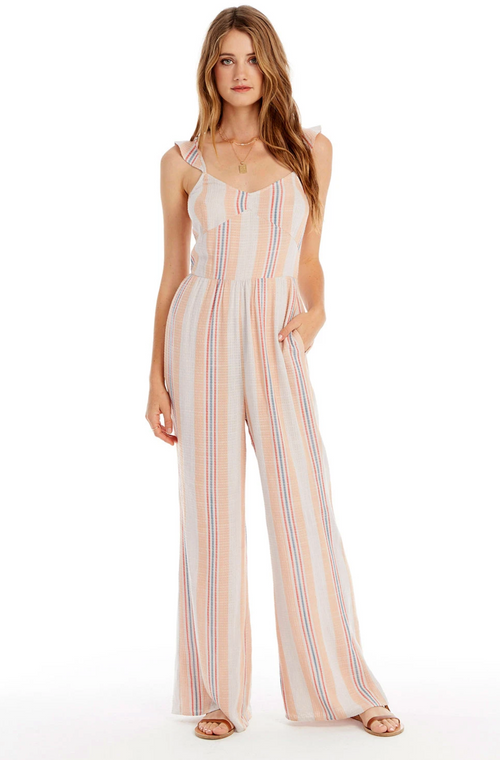 Amor Striped Jumpsuit