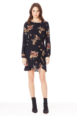 Rosa Short Sleeve Wrap Dress