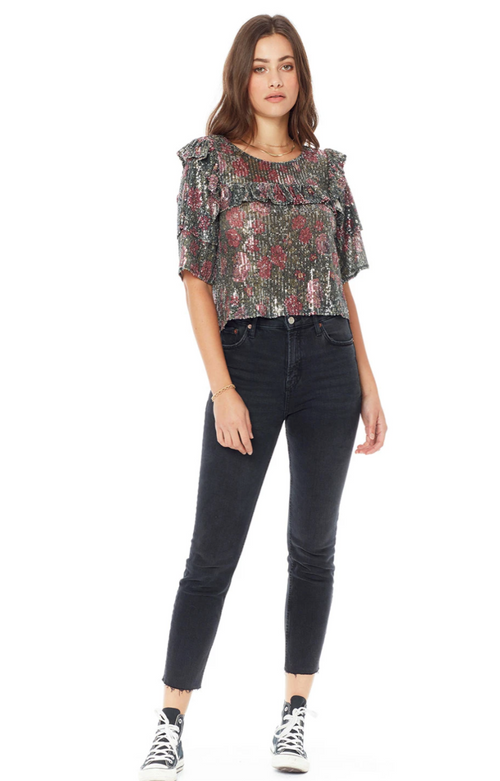 Margot Sequin Top