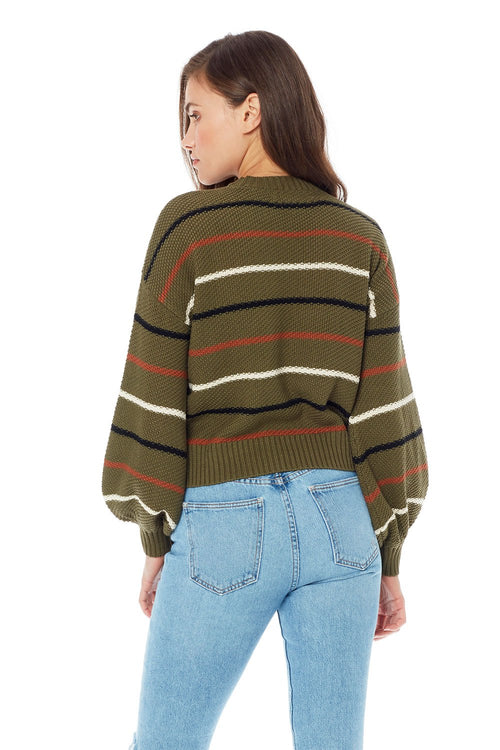Vale Striped Sweater