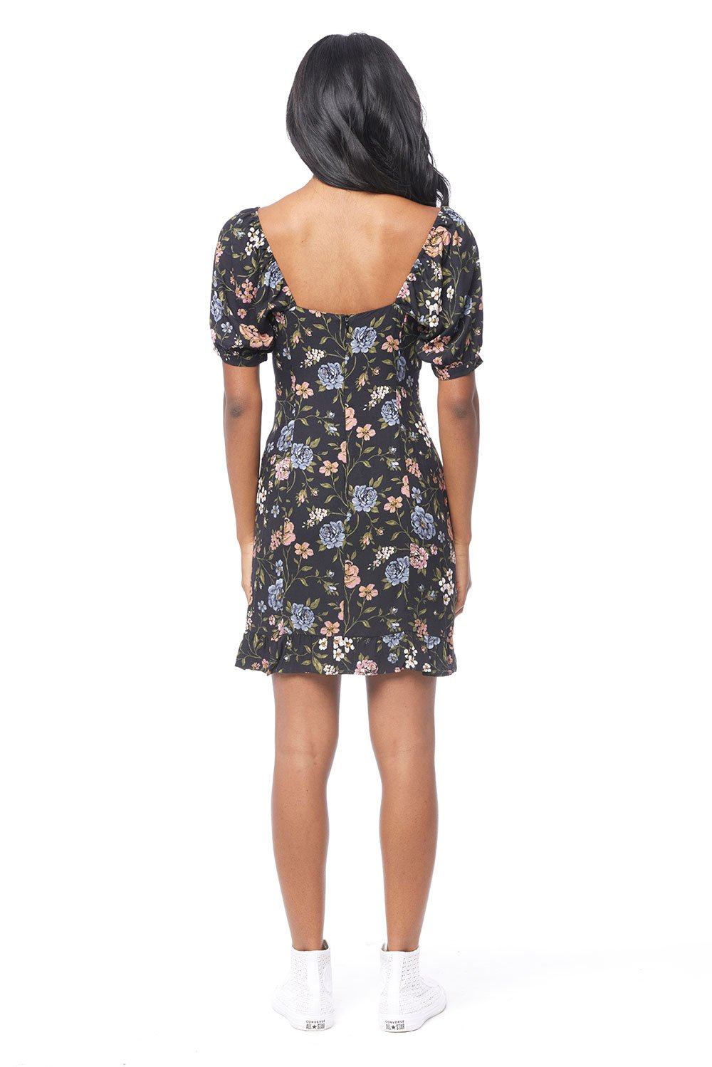 Vicki Short Sleeve Floral Dress