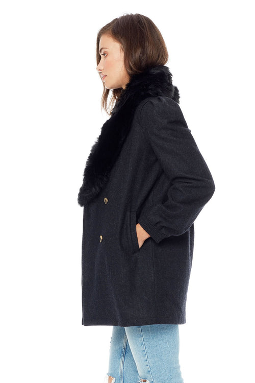 Swift Button Front Coat