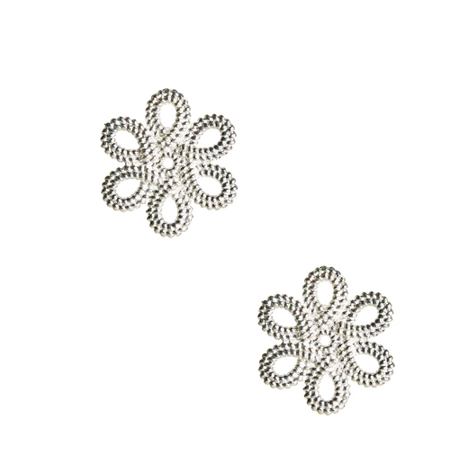 Mini Cameran Earrings - Silver