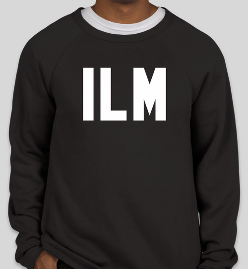ILM Sweatshirt - Black Crewneck