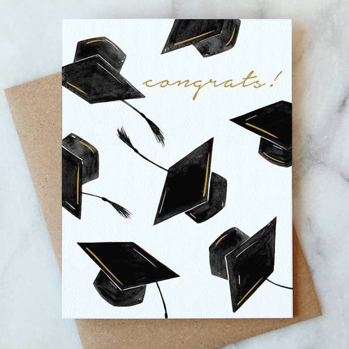 Congrats Grad Hat Card