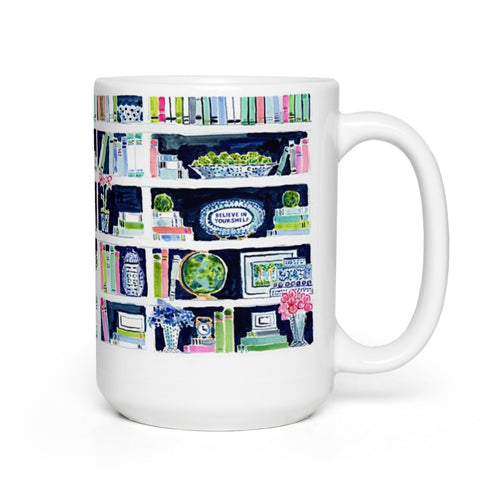 Believe In Your(shelf) Mug
