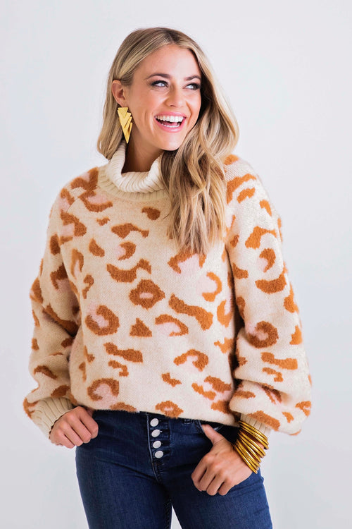Wild Thing Leopard Sweater
