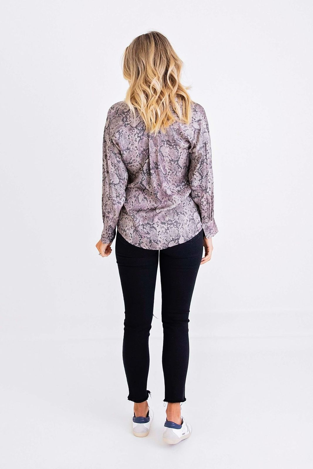 Essentials Button Front Top
