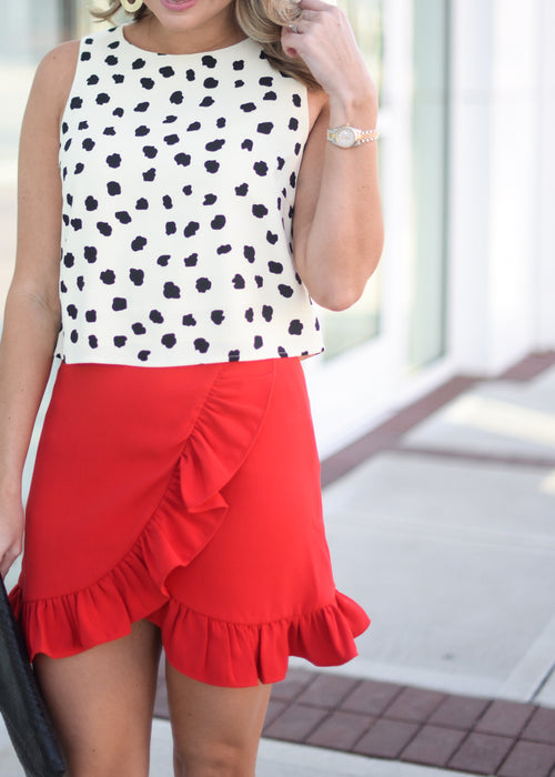 Brinkley Ruffle Skirt