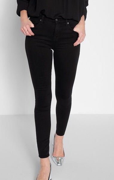B(air) High Waisted Skinny in Black