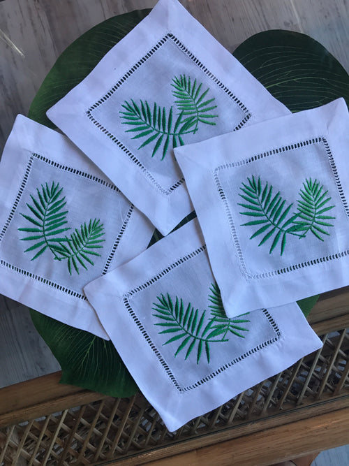 Palm Cocktail Napkins
