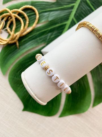 Always 24K Gold Disc Stacking Bracelet