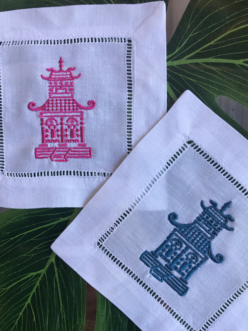 Pagoda Cocktail Napkins